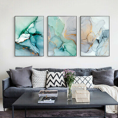 Marble Texture Canvas Poster Abstract Nordic Wall Art Print Modern Home Decor 4