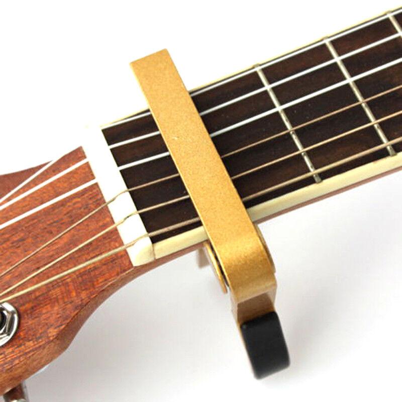 Advanced Guitar Capo Quick Change Tune Clamp Acoustic Electric Classic Guitar E& 7