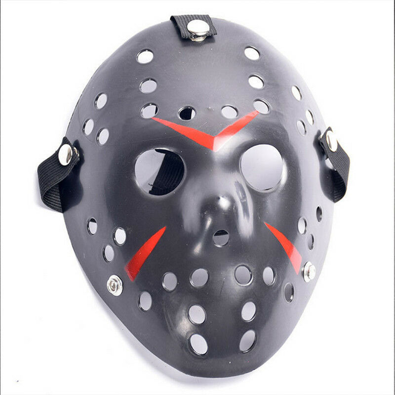 Jason Voorhees Freitag 13. Deluxe Halloween Horror Hockey Maske Cosplay Kostüm 4