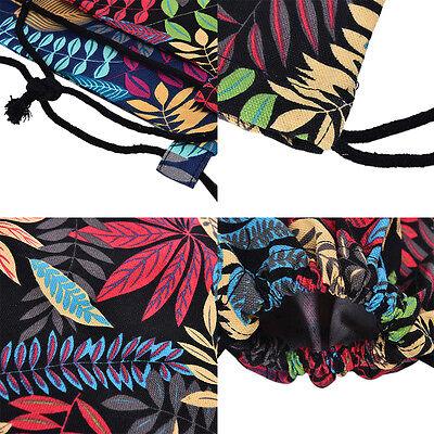 Gym Drawstring Backpack Canvas Draw String Bucket Bag PE Travel Shoulder Bags NT 3