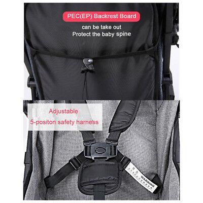 Lightweight Compact Fold Baby Stroller Pram Pushchair Travel 7
