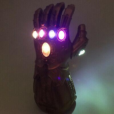 2019 Figure & LED Light Thanos Infinity Gauntlet Marvel Legends Gloves Avengers 5