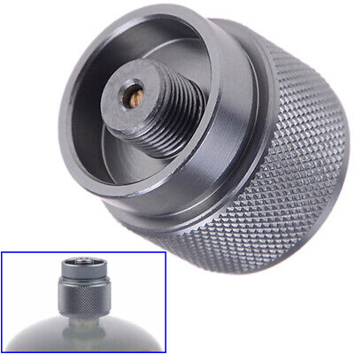 1LB Adapter Camping Propane Small Gas Tank Adapter Input Lindal Output Stove 1Pc 9