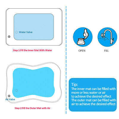 Inflatable Baby Water Mat Novelty Play for Kids Children Infants Funny 60*51cm 7