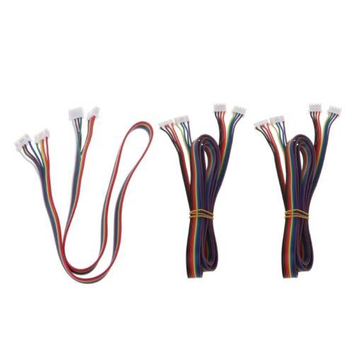 2Pcs Motor Cables XH2.54 4pin Nema 17 Stepper Motor Cable 4pin Cable 42 Motor 2
