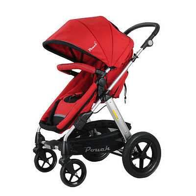 New 2 In 1 Baby Toddler Pram Stroller Jogger Aluminium With Bassinet 5 Colors 7