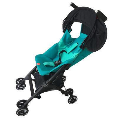 Black Baby Child Pushchair Stroller Pram Buggy Sun Shade Canopy Cover UV UPF50+ 6
