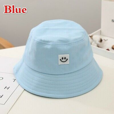 Unisex Foldable Smile Bucket Hat Outdoor Sunscreen Cap Smile Face Fisherman Hats 10
