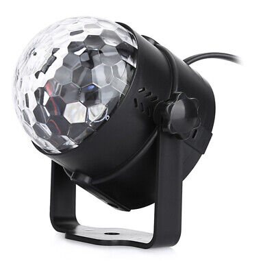 RGB LED Effect Disco Light Stage DJ Laser Crystal Magic Ball Lights Club Party 11