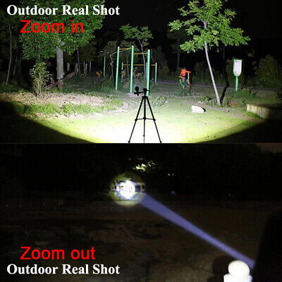 Ultrafire 350000LM Zoomable Tactical T6 LED Flashlight Torch Work Light Headlamp 4