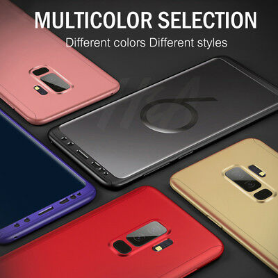 Luxury 360 Degree Full Cover Phone Shockproof Case For Samsung Galaxy S9 S10Plus 2