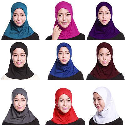 Mussulmano Hijab Interna Cappellini Islamico Cotone Pieno Copertura Cappello 2