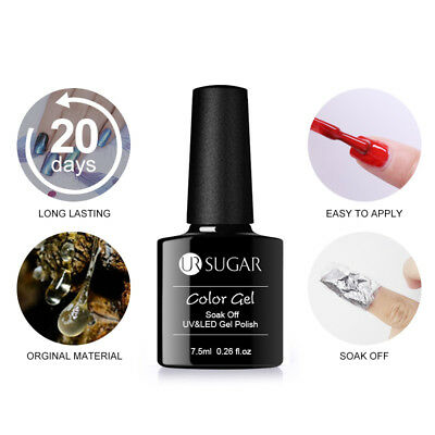 UR SUGAR Smalto Gel UV Semipermanente Unghie Soak off Nail Art UV Gel Polish