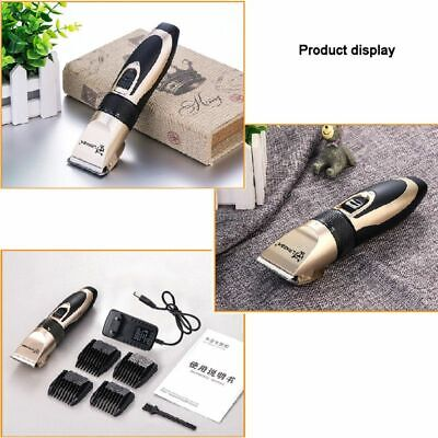 Dog Pet Hair Trimmer Professional Cat Shaver Grooming Clipper Kit Cordless Heavy 3