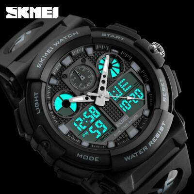 Men's Date Quartz Military Shock Digital Tactical Sport Fashion Wrist Watch US 4
