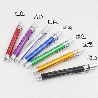 Medical Pen LED Light Pocket Torch Reusable Emergency Doctor Nurse Surgical 9