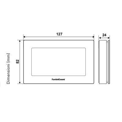 3S Cronotermostato Ch180Wifilite Touch Screen  Settimanale Connessione Wifi New 3