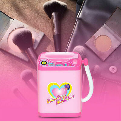 1Pc Cute Electric Cosmetic Powder Puff Washing Machine Makeup Brushes Cleaner 7