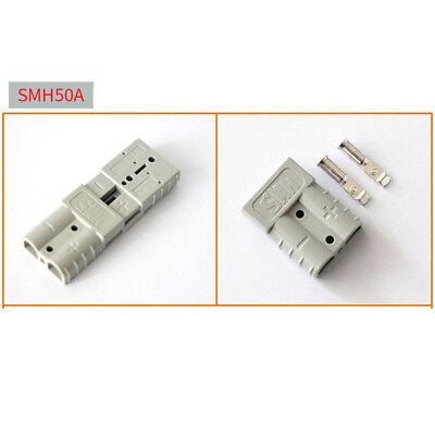 Satz Batteriestecker mit Kupplung grau Anderson SB 120//Rema SR 120 A 25mm²