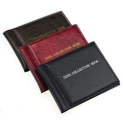 60PCS 35mm Münzen Sammlung Halter Aufbewahrung Geld Penny Taschen Album Ordner