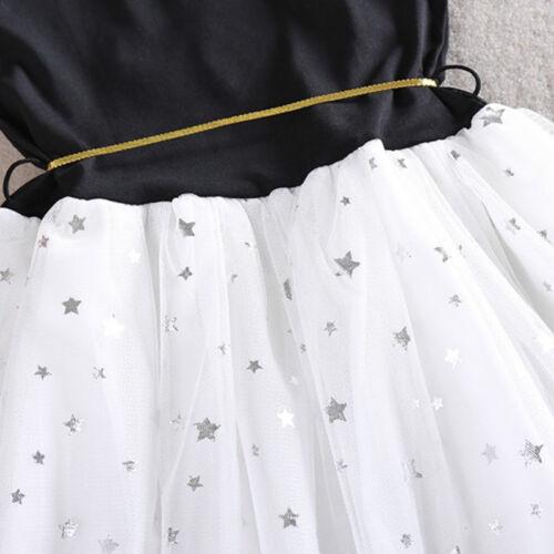 Girls Kids Toddler Baby Princess Dresses Wedding Party Tulle Tutu Dress Summer