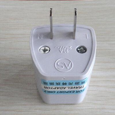 Tour EU UK AU to US USA AC Travel Power Plug Adapter Outlet Converter Universal 3