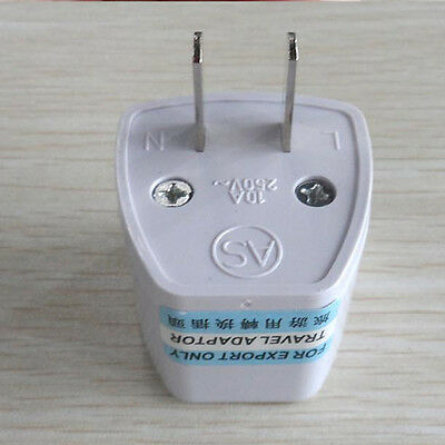 Universal EU UK AU to US USA AC Travel Power Plug Adapter Outlet Converter c1