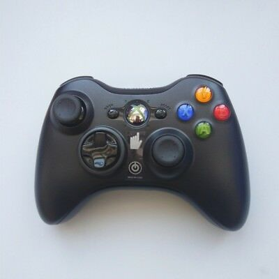 Official Microsoft Xbox 360 Wireless Controller (Blk/Wht) - Brand NEW! CA Stock 3