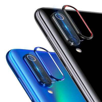 For Xiaomi Redmi Note 7 Camera Lens Protector Case Metal Ring Cover +Glass Film 3