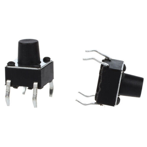 10pcs 6x6x8mm Tactile Tact Push Button Micro Switch Momentary TY PRP FG 3