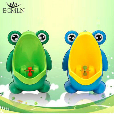 HOT Frog Kids Potty Toilet Training Baby Urinal for Boy Pee Trainer Bathroom New 2