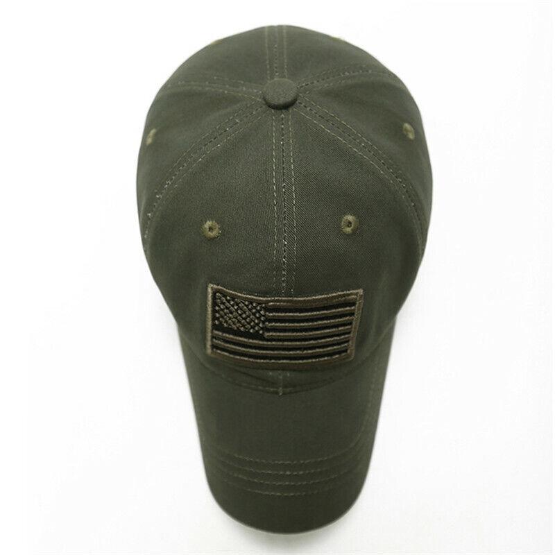 d34ec3197af Baseball Cap Mens Tactical Army Military Dad Hat USA American Flag Visor  Hats US 6 6 of 6 See More