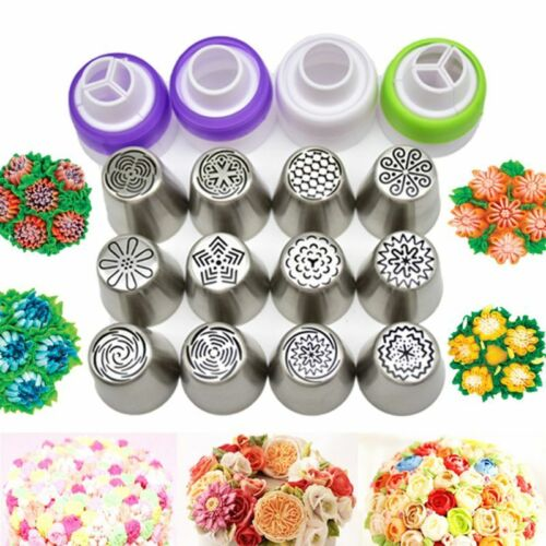 12pcs Icing Piping Nozzles Excellent Russian Tulip Cake Decor Tips Baking Tools 2