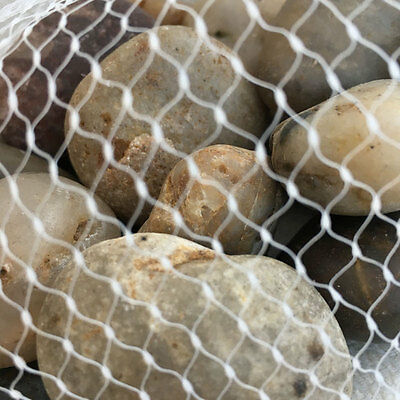 1kg Large Assorted Browns Natural Stones Pebbles Aquarium Decoration Garden Vase 9