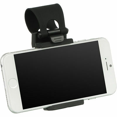 Universal Car Steering Wheel Clip Mount Holder Cradle Stand For Mobile Phone GPS 3