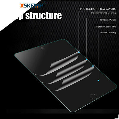 9H+ Premium Real Tempered Glass Screen Protector Flim For Apple iPad Pro 11 2018 10