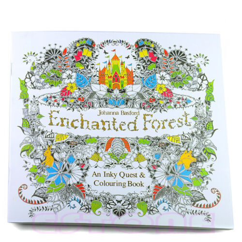 1 Of 8 New Enchanted Forest An Inky Treasure Hunt And Coloring Book By Johanna Basford