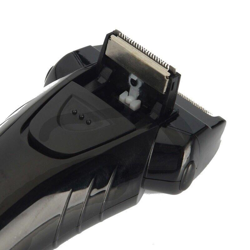 Kemei Comfort Series Men Dual Foil Electric Cordless Shaver Trimmer Rechargeable 4