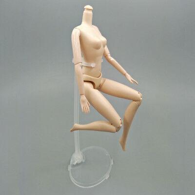 10pcs Transparent Doll Stand Support for 1/6 Dolls Prop Up Model Display Holder 8