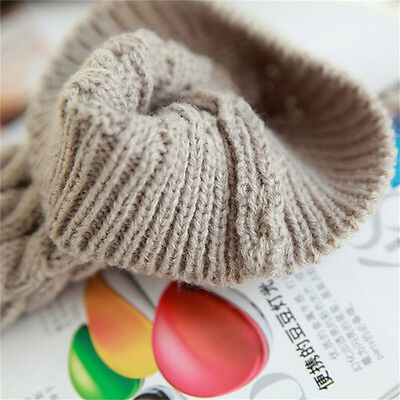 Scaldamuscoli invernali lavorati a maglia all'uncinetto da donna WFIT 12