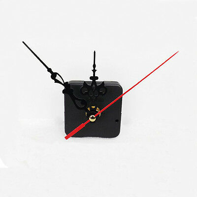CHIC Black Quartz Clock Movement Mechanism Repair DIY Tool Kit+Red Hand 2 • £0.99