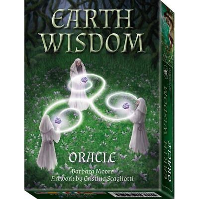 Earth Wisdom Oracle Cards Deck Barbara Moore Esoteric Telling Lo Scarabeo New 2