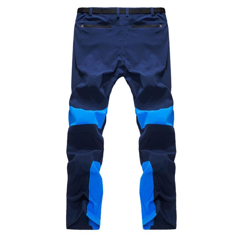Men Tactical Trousers Waterproof Hiking Climbing Sport Combat Cargo Work Pants 6