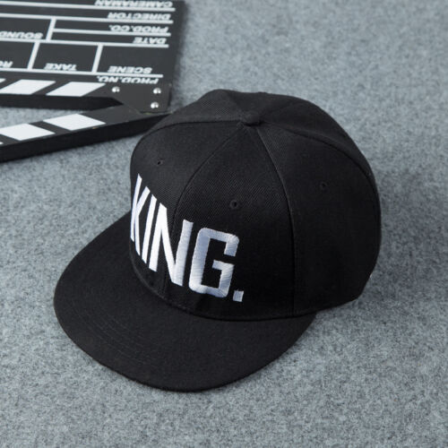 9b85aa5210a King And Queen Letter Hat Adjustable Baseball Cap Hats Hip Hop Couple  Snapback 3 3 of 7 ...