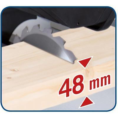 Scheppach Tischkreissäge HS80 1200W, 210mm Sägeblatt, 48mm Schnitthöhe