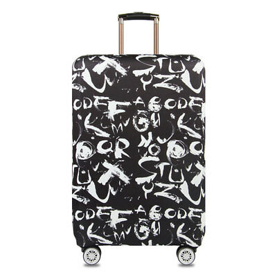 """18""""-32"""" Luggage Suitcase Elastic Protective Travel Dustproof Protector Cover Bag 3"""