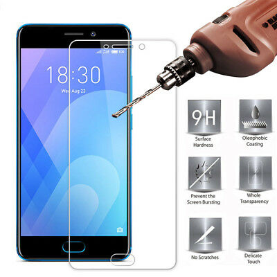 2Pcs 9H Tempered Glass Film Screen Protector Cover For Meizu M5 M6 M5Note M6Note 6