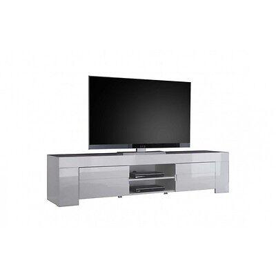 PORTA TV EOS Grande 190 cm laccato Bianco Mobile sala soggiorno ...