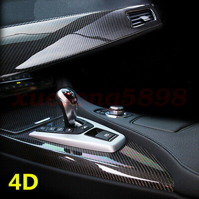 3D Waterproof Carbon Fiber Vinyl Car Wrap Sheet Roll Film Sticker Decal Paper 10