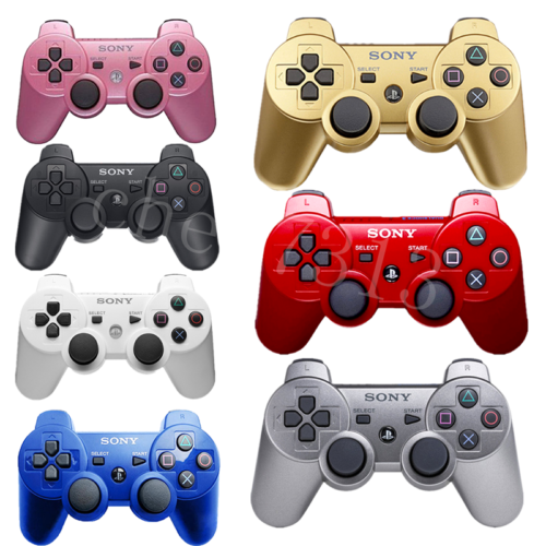 Official original authentic Sony PS3 wireless Dualshock 3 controller color US